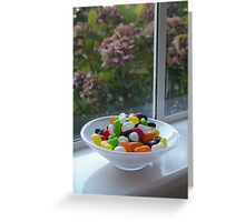 Addicted to jelly beans ! Greeting Card