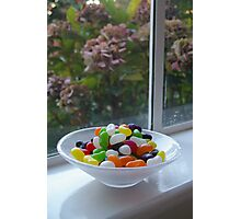 Addicted to jelly beans ! Photographic Print