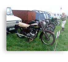 Old Ariel Motorbike 2 Metal Print