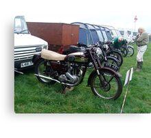 Old Ariel Motorbike 2 Canvas Print