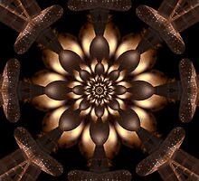 Luminescent Copper Gold Tones by xzendor7