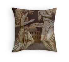 He Shall give His angel's  charge over  you    Throw Pillow