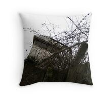 Tower - Dachau Throw Pillow