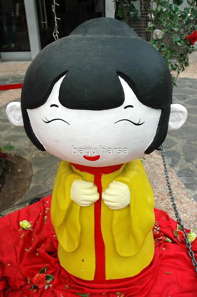 chinesse doll by bayu harsa