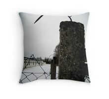 Hooked - Dachau Throw Pillow