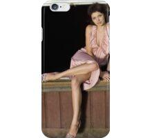 fashion model on window iPhone Case/Skin