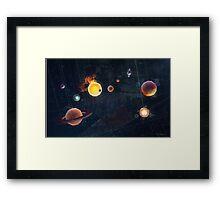 Old Stars New Horizons Framed Print