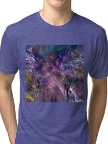 beautiful colorful abstract art Tri-blend T-Shirt