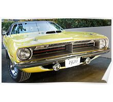 1970 Plymouth Hemi Cuda Poster