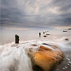 &#x27;Sandsend Swirls&#x27; by Ian Snowdon /     www.downtoearthimages.co.uk
