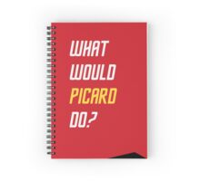 What would Picard do? Spiral Notebook