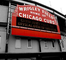 Wrigley Field by JaTron