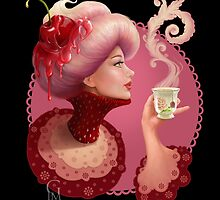 Tea and a Cupcake by GloriaPM
