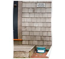 Dog Watering Station Poster
