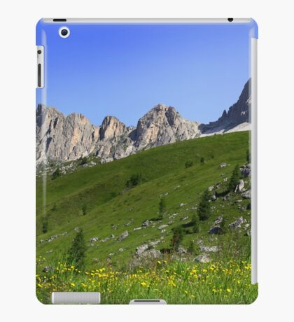 Giau Pass iPad Case/Skin
