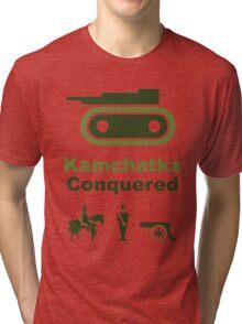 Risiko Kamchatka Green Tri-blend T-Shirt