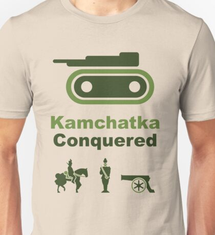 Risiko Kamchatka Green Unisex T-Shirt