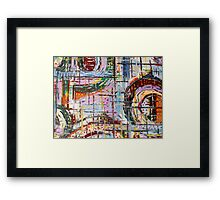 ABSTRACT 418 Framed Print