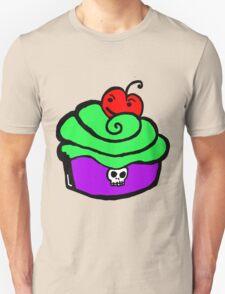 Skull rocker Cupcake T-Shirt