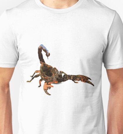 03. Desert Scorpion Double Exposure Unisex T-Shirt