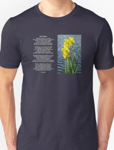 Wordsworth's Dances with the Daffodils Unisex T-Shirt