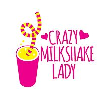 Crazy Milkshake Lady by jazzydevil