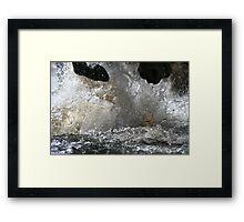 The wetter the better!!! Framed Print