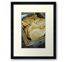 indonesian food Framed Print
