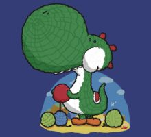 Wooly Egg Chucking Dinosaur by Aniforce
