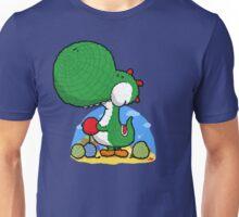 Wooly Egg Chucking Dinosaur Unisex T-Shirt