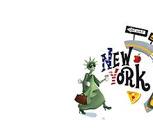 I ♥ New York by solarlullaby