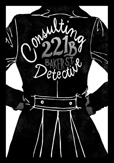 The Consulting Detective by sittingdowntype