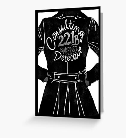The Consulting Detective Greeting Card