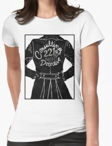 The Consulting Detective Womens Fitted T-Shirt