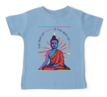 I want Love and Peace Baby Tee