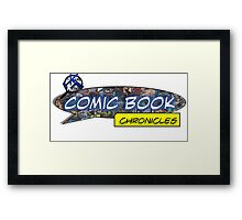 Comic Book Chronicles logo Framed Print