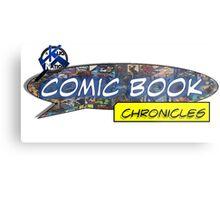 Comic Book Chronicles logo Metal Print