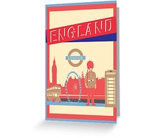 London England UK Greeting Card