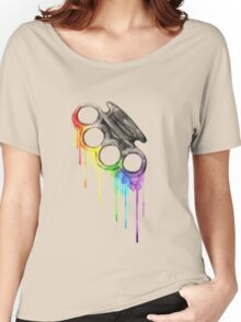 Knock some colors Women's Relaxed Fit T-Shirt