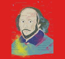 Portrait of William Shakespeares One Piece - Long Sleeve