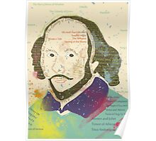 Portrait of William Shakespeares Poster