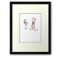Doctor Who - The Hand Of Feels Framed Print