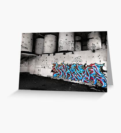 Wall of art 001 Greeting Card