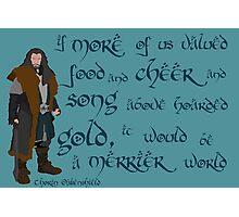 The Hobbit Merrier World Photographic Print