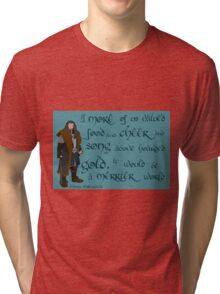 The Hobbit Merrier World Tri-blend T-Shirt