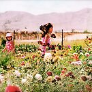 The wanderlust of flowers and young girls by Anne  McGinn