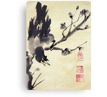 Black Bird Canvas Print