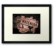 Lost Luggage Framed Print