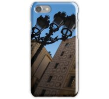 Wandering Around the Streets of Barcelona, Spain iPhone Case/Skin
