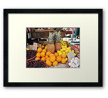 Fruit for Dessert Tonight Framed Print